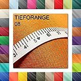 1buy3 3 Lfm Oxford 600D Farbe 08 | TIEFORANGE | Polyester