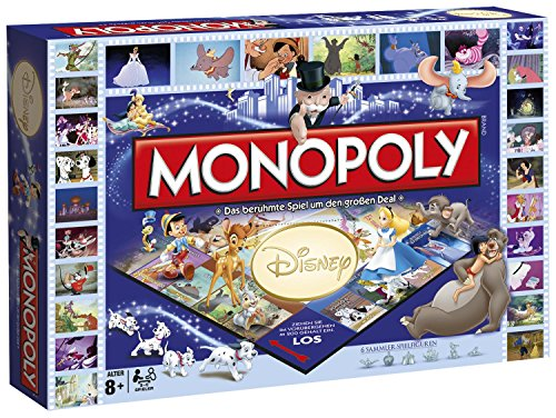 Winning Moves 44055 - Monopoly Disney Classics [Edizione: Germania]
