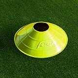 Markierungsteller, 50 Stück, mit Ständer, beste Qualität [Net World Sports] (Markierungsteller mehrfarbig) - 9