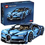 LEGO 42083 Technic Bugatti Chiron, Super Sports Car Exclusive Collectible Model, Advanced Building Set, Multicolor