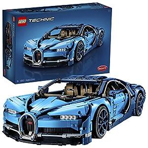 LEGO Technic BugattiChiron, Modello di Automobile Super Sportiva da Collezione,Set di Costruzioni Avanzato (3599 Pezzi), 42083  LEGO