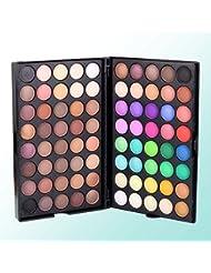 Msmask 80 couleurs mat lumineux fard à paupières cadeau coloré Maquillage cosmétiques ombre à paupières