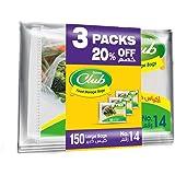 Sanita Club Food Storage Bags Biodegrdable #14 50 Bags 20% OFF