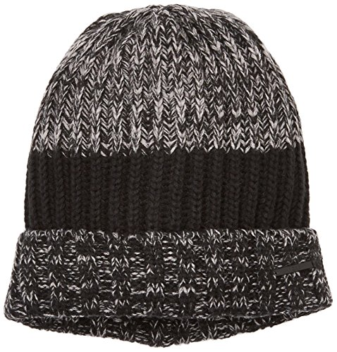Mexx Herren Baskenmützen Men Beret, Schwarz (Black 001), One size