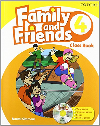 Family & Friends 4. Class Book And Multi-Rom Pack (Family & Friends First Edition) - 9780194812511