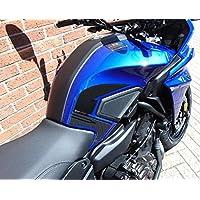 2 ADHESIVOS gel PROTECCIONES LATERAL DEPÓSITO compatible MOTO YAMAHA TRACER MT-07