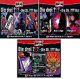 Die Drei ??? (Fragezeichen) - Folgen 82-90 (3 CD Box 28+29+30) im Set - Deutsche Originalware [9 CDs]