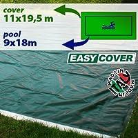 Telo di copertura invernale per piscina 9 X 18 mt