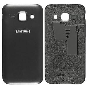 Original Samsung Akkudeckel black / schwarz für Samsung J100H Galaxy J1 (Akkufachdeckel, Batterieabdeckung, Rückseite, Back-Cover) - GH98-36089C