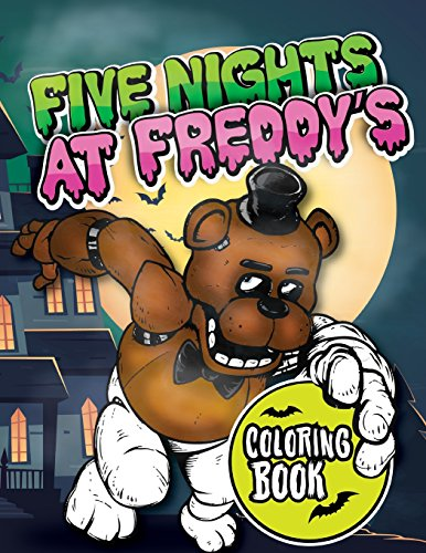 Five Nights at Freddy's Coloring Book: for Kids and Adults - 45 exclusive images
