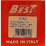 Best Model 1:43 9062 Alfa Romeo TZ1 Targa Florio 1965 - Bianchi - Rolland #70