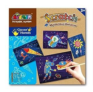 Avenir SPCH0001/CH0002 Scratch Mysterious Universe and Dinosaur World