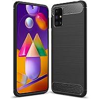 Amazon Brand - Solimo Soft & Flexible Hybrid Back Phone Case for Samsung Galaxy M51 (Black)