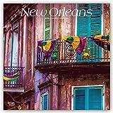 New Orleans 2019 - 18-Monatskalender mit freier TravelDays-App: Original BrownTrout-Kalender (Browntrout Wandkalender)