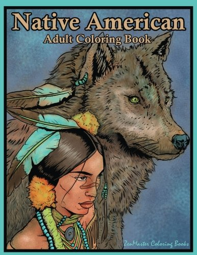 Native American Adult Coloring Book