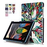 SZHTSWU Kunstleder Tasche für Lenovo TAB 3 7 Essential