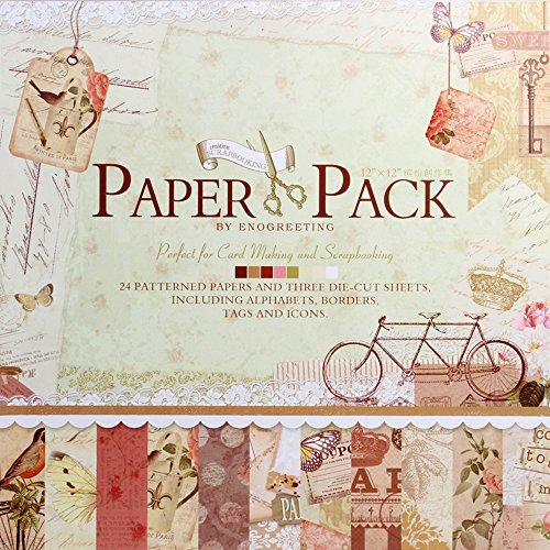 12 x12 inch decorative card making scrapbooking paper pack (24 patterned sheets + 3 die cut sheets) – afternoon design 12 x12 Inch Decorative Card Making Scrapbooking Paper Pack (24 Patterned Sheets + 3 Die Cut Sheets) – Afternoon Design 610cPa7ZBYL