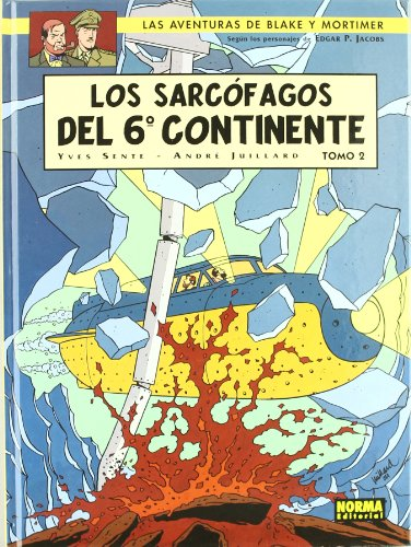Blake & Mortimer 17 los sarcofagos del 6 continente 2/ The sarcophagus of the 6th Continent 2 Cover Image