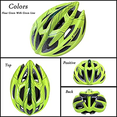 X-TIGER Adult Outdoor Cycling Helmet for Men and Women Safty Protection with Comfortable Safety Helmet for Sport Riding Bike adjustable Mountain Bicycle Road Bike Helmet from X-TIGER