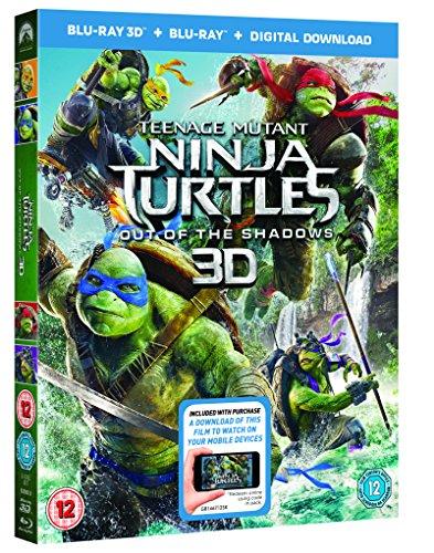 Image of Teenage Mutant Ninja Turtles: Out Of The Shadows (Blu-ray 3D + Blu-ray + Digital Download) [2016]