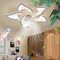 Ventilateur de plafond avec éclairage Dimmable LED Plafonnier Télécommande Moderne Silencieux Plafonnier Bureau Chambre…