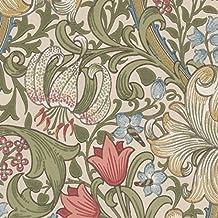 William Morris - Papel Pintado de Lirio Dorado - 210398 - AC3