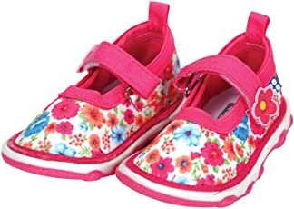 Mee Mee First Walk Baby Shoes with Chu Chu Sound (19 EU, Dark Pink)