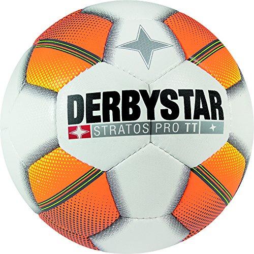 Derbystar Stratos Pro TT, 5, weiß orange gelb, 1125500175 -