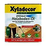 Xyladecor Holzbodenöl für außen, 2,5 Liter sprühbar - Holzterrassen einfach und schnell vor Nässe und Uv-Strahlung schützen