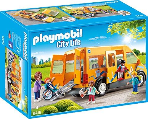 Playmobil- Autobús Escolar Juguete