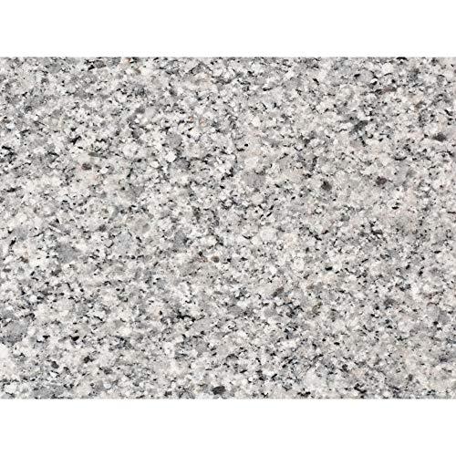 PrintYourHome Fliesenaufkleber für Küche und Bad | Dekor Granit Grau | Fliesenfolie für 15x20cm Fliesen | 24 Stück | Klebefliesen günstig in 1A Qualität
