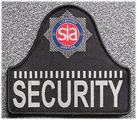 SIA Licensed Officer Sew-On 'Bell Shape' Security Badge