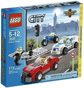Lego City - 3648 - Jeu de Construction - La poursuite policière - Edition spéciale -