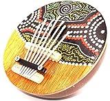 Karimba Kalimba Gitarre Piano für Daumen Kalimba Coco Instrument Musik Aboriginal ID Finger TUMB Piano Kalimba Coconut Handmade