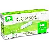Organyc Tampons Super aus 100% biologischer Baumwolle, 4er Pack (4 x 16 Stück)