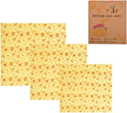Goolsky Beeswax Food Wraps Food Covers Reusable Eco-Friendly Wash Wrap Stretch Lids