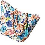 Strandtasche groß XXL Damen Badetaschen bunt Sommertasche
