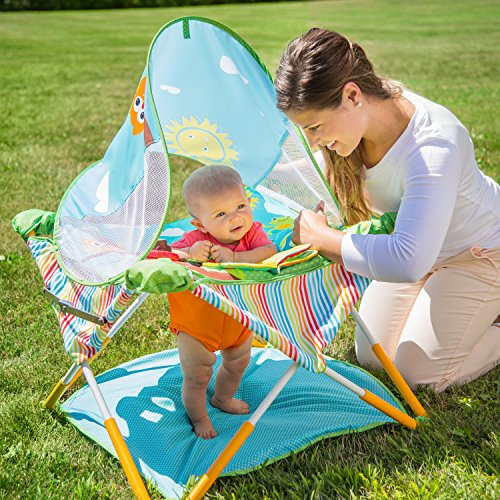 Summer Infant 13416 Pop n' Jump Kindersitz, mehrfarbig - 2