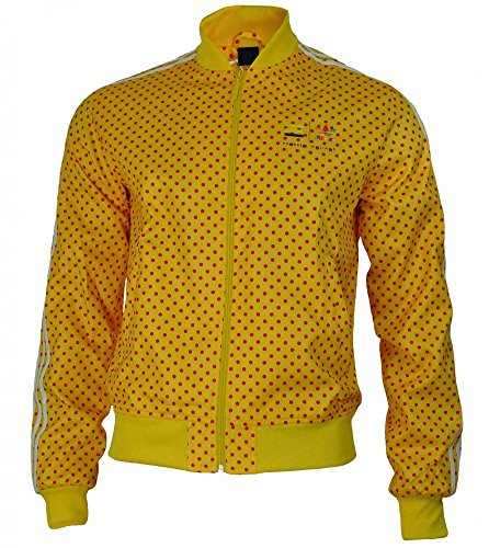 Adidas Track Jacket Originals Pharrell Williams Dot Giacca Uomo giallo, Dimension:S
