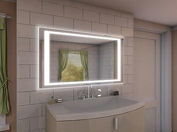 Badspiegel Mit Beleuchtung Nj2 M402l4: Design Spiegel Für ... Bad Beleuchtung Modern