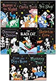 Funny Bones 8 Books Collection Set ( Bumps in the Night, Dinosaur Dreams, Give the Dog a Bone, Mystery Tour, Skeleton Crew, The Black Cat, The Ghost Train, The Pet Shop)