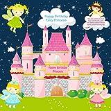 Untumble - Fairy birthday party banner -...