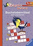 Buchstabenrätsel zum Lesenlernen (1. Lesestufe) (Leserabe - Rätselspaß)