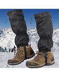 JTENG ghette impermeabili Ghette da Trekking Escursione Campeggio Impermeabile per attività all'aperto escursionismo camminate arrampicate 1 Paio
