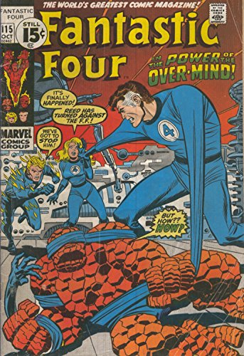 FANTASTIC FOUR Vol.01 Numero 115: The secret of eternals