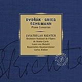 Dvorak, Schumann, Grieg : Concertos pour piano