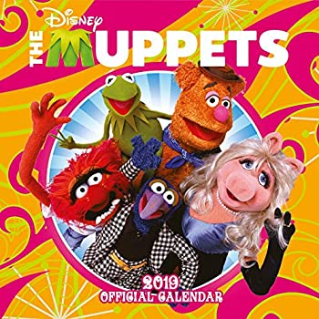 The Muppets Official 2019 Calendar - Square Wall Calendar Format