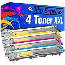 PlatinumSerie® 4 cartouches compatibles avec Brother TN-241 TN-245 DCP-9020 CDW HL-3140 CW HL-3150 CDW HL-3170 CDW MFC-9130 CW MFC-9140 CDW MFC-9330 CDW MFC-9340 CDW