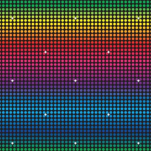 Beistle 52115 Disco-Hintergrund, 122 x 9 m, 1 Stück