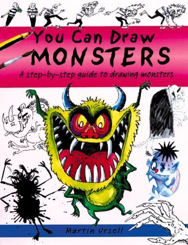 You Can Draw Monsters: A Step-by-Step Guide to Drawing Monstrous Beasts by b small publishing (2014-11-01)